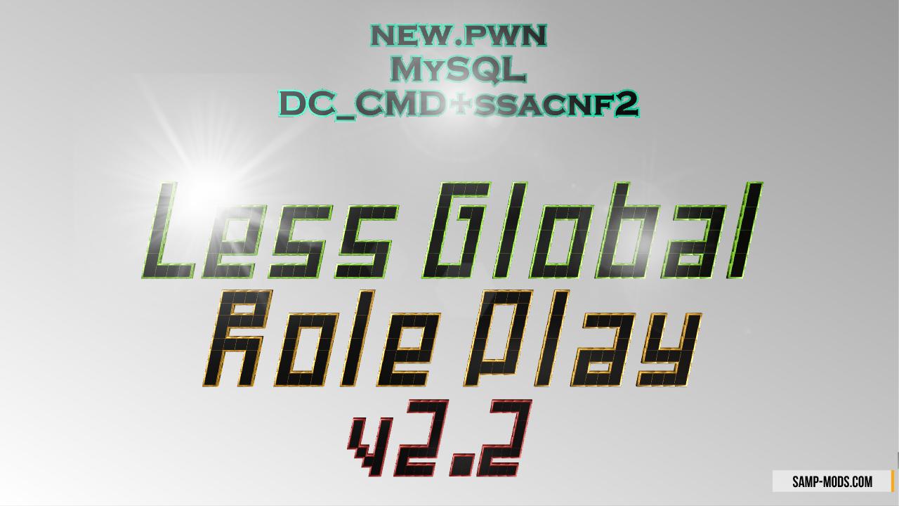 Скачать готовый сервер самп less global rp