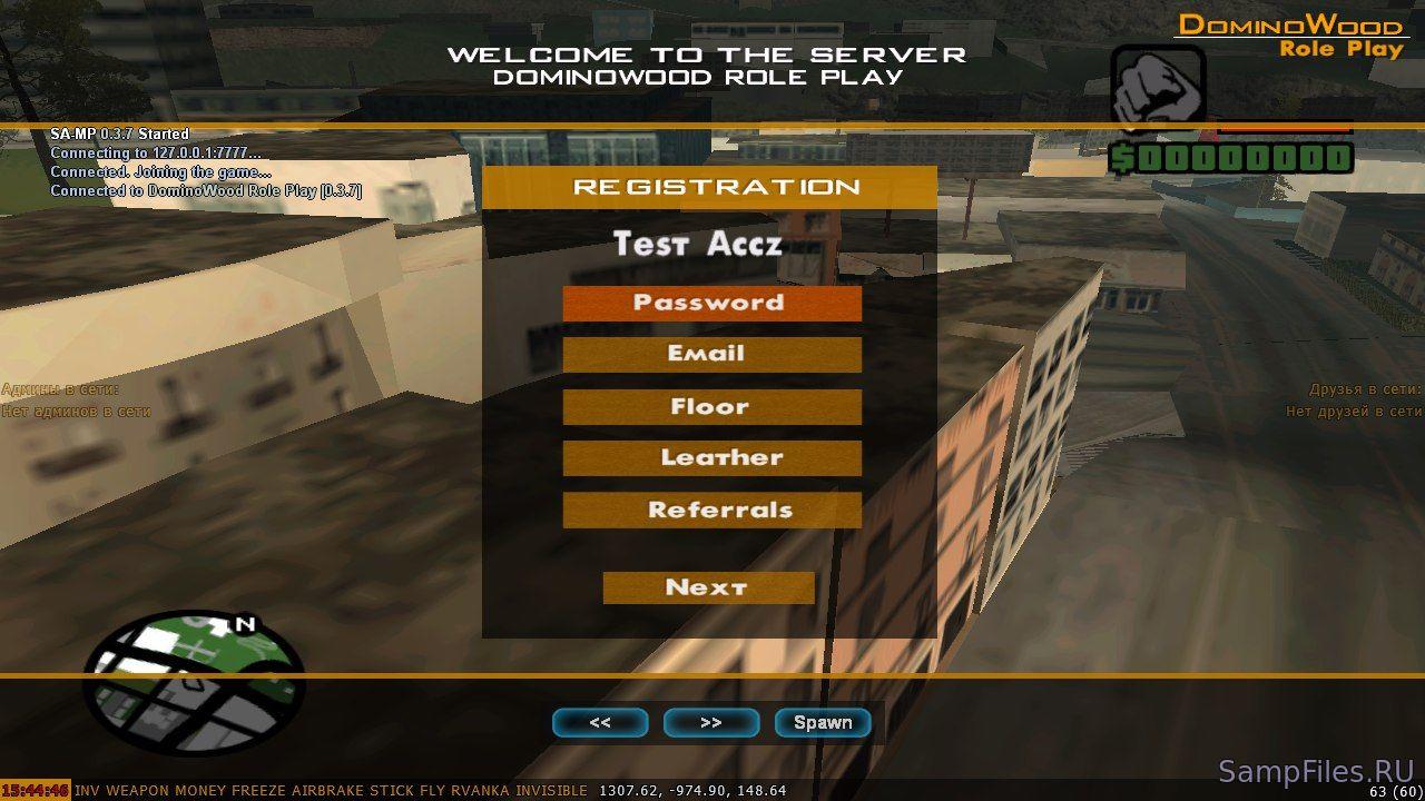 Хостинг сервера самп 0.3z за 2 рубля зомби сервер видимый в интернете для css v34